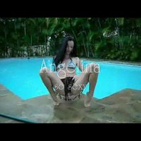 Angelina69: angelina  teasing in front of pool
